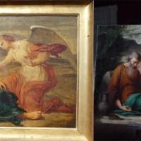 Elie et l'Ange dans le désert- Elisabeth Wagner-Salles vers 1840/50