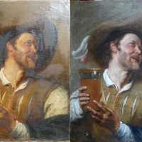 Buveur de bière-Anonyme flamand-circa 1630/40