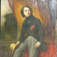 Portrait de J Rensburg Jr par H JB Jolly- Den Hag 1838