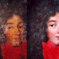 Portrait de Philippe d'Orléans dit Monsieur, frère de Louis XIV- 2° 1/2 du 17° siècle
