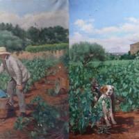 Sulfatage des vignes avant-après restauration-AdR 2013