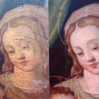 Vierge florentine du XV/XVIème siècle
